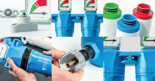 SRA系列压缩空气过滤器细节