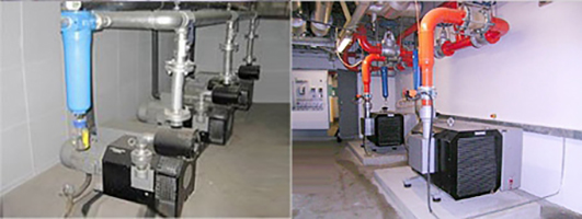 SR真空泵过滤系统实图
