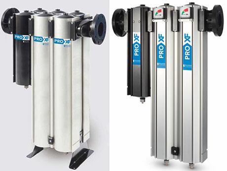SR PROXF气水分离器与过滤器组合使用