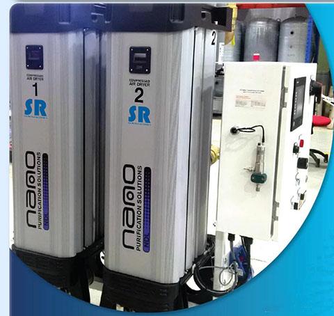 SR模块化吸附式干燥设备主要解决压缩空气含水问题