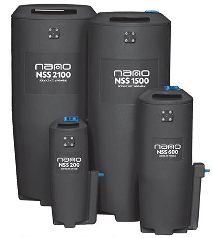配有Nano油水分离器滤芯的Nano NSS系列油水分离器(小型号)