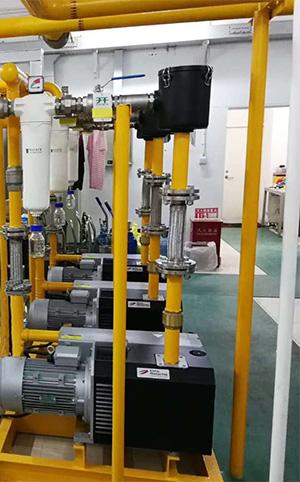 口腔医院负压系统的真空泵房