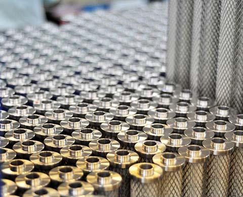 双层不锈钢骨架结构的Airfilter Engineering滤芯