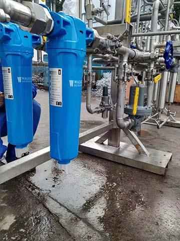 无油压缩空气经SRA除油压缩空气过滤器过滤可以得