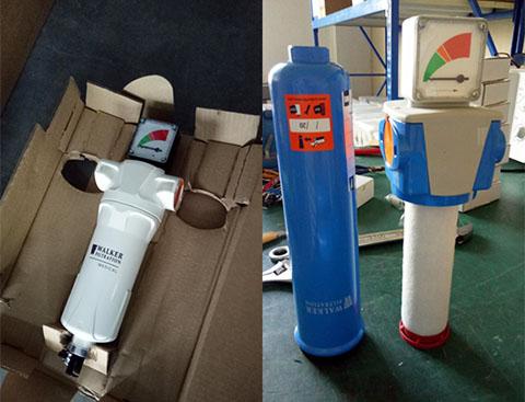 水泥厂的压缩空气系统可以选择的SR压缩空气过滤器