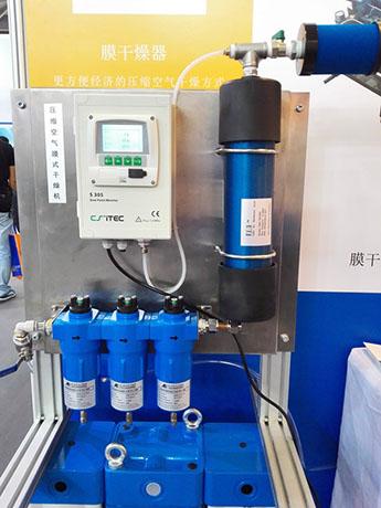 SRB系列压缩空气过滤器后接SR膜干燥器