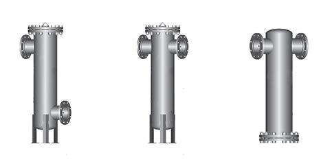 SR法兰过滤器多种形式开口设计