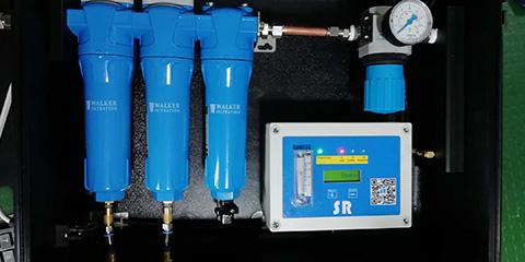 空压系统SR便携式呼吸箱内部