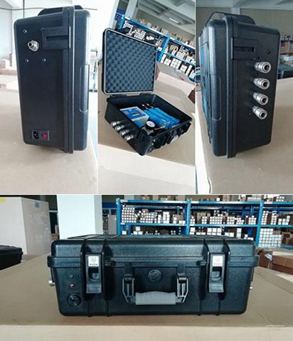 多角度拍摄的空压系统SR便携式呼吸箱