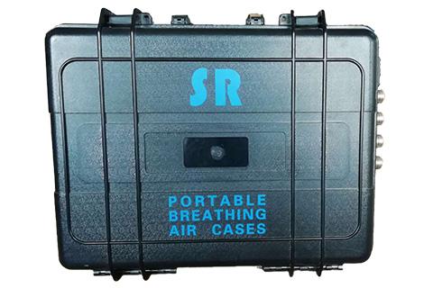 空压系统SR便携式呼吸箱正面照