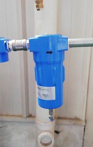 SRB系列氧气过滤器在使用中