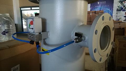 SR医用中心吸引系统除菌过滤器F400MV的法兰接口