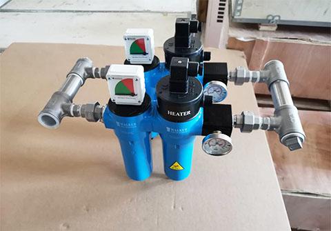 WALKER压缩空气加热器并联使用