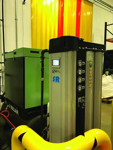 激光切割应用中的英国进口SR模块制氮机