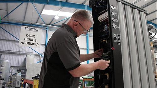 英国进口SR模块制氮机的生产车间