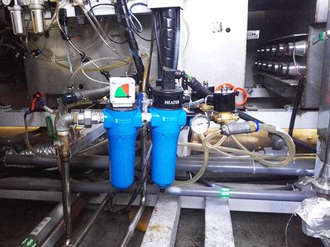 WALKER加热器A55FTH使用现场