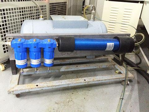 SR CMD渗膜式干燥器集成在移动式空压机上
