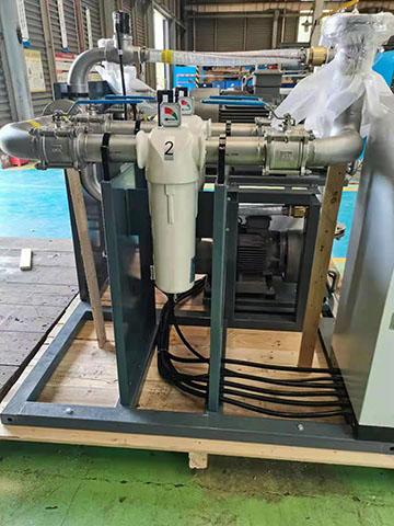 S120MV真空除菌过滤器配套到真空泵系统